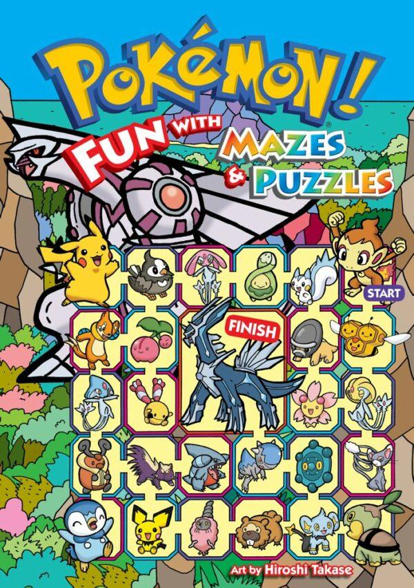 POKEMON! FUN WITH MAZES & PUZZLES