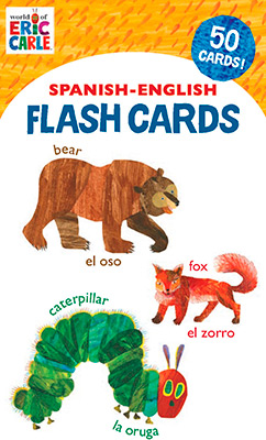 WORLD OF ERIC CARLE (TM) SPANISH-ENGLISH FLASH CAR