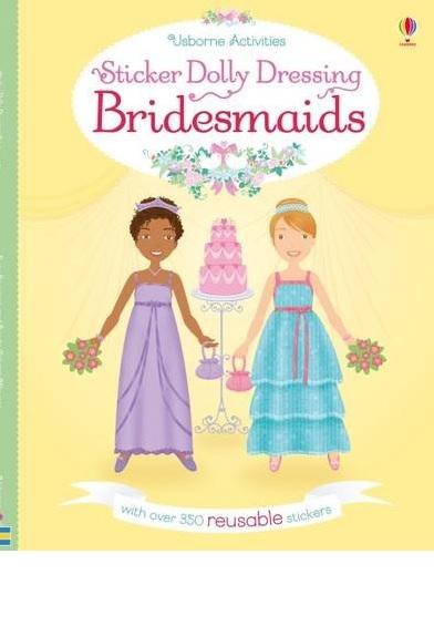 STICKER DOLLLY DRESSING BRIDESMAIDS