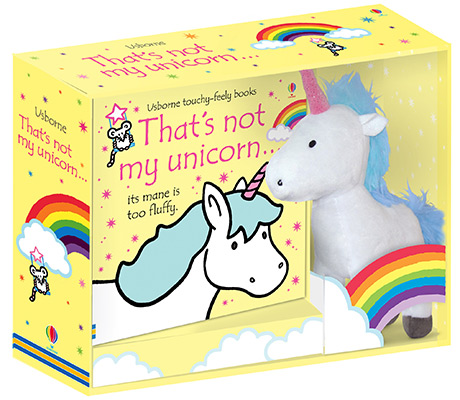 THAT'S NOT MY UNICORN BOOK & TOY