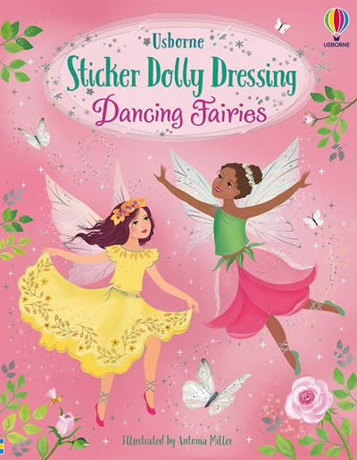 STICKER DOLLY DRESSING DANCING FAIRIES