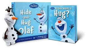 FROZEN OLAF BOOK AND PLUSH
