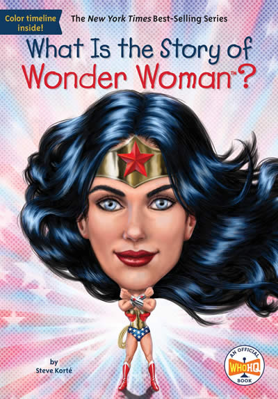 WHAT IS THE STORY WONDER WOMAN?