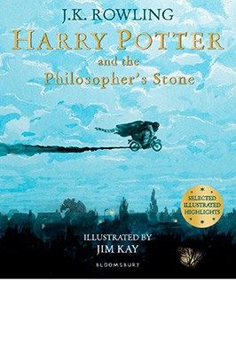 HARRY POTTER AND THE PHILOSOPHER STONE (ILLUST)
