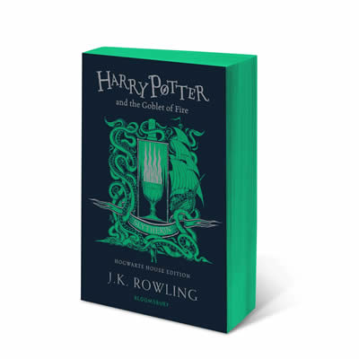HARRY POTTER AND THE GOBLET OF FIRE - SLYTHERIN ED