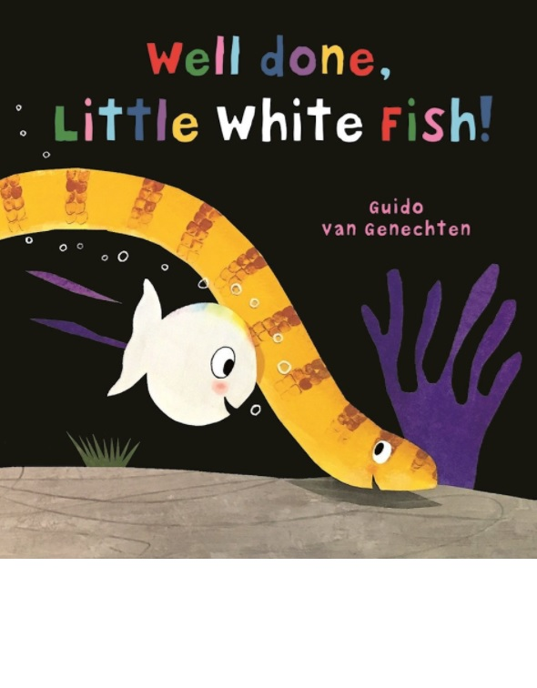 WELL DONE LITTLE WHITE FISH!