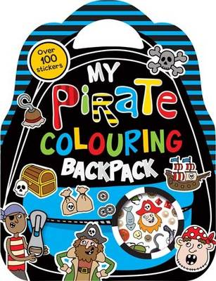 COLOURING AND STICKER MY PIRATE ADVENTURE COLOURIN