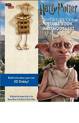 INCREDIBUILDS-HOUSE ELVES DELUXE BOOK & MODEL SET