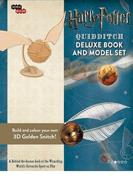 INCREDIBUILDS-QUIDDITCH DELUXE BOOK & MODEL SET