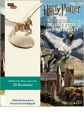INCREDIBUILDS-BUCKBEAK DELUXE BOOK & MODEL SET