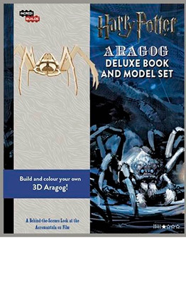 INCREDIBUILDS-ARAGOG DELUXE BOOK & MODEL SET