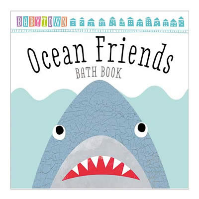 BABYTOWN OCEAN FRIENDS BATH BOOK