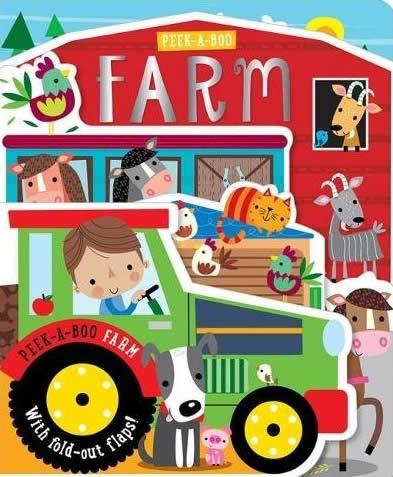 BOARD BOOK PEEK-A-BOO FARM