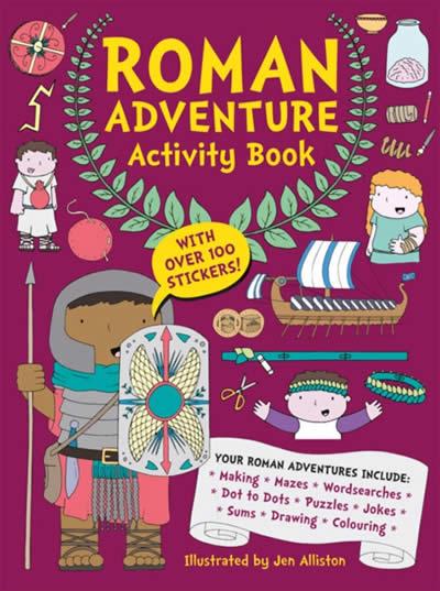 ROMAN ADVENTURE ACTIVITY BOOK
