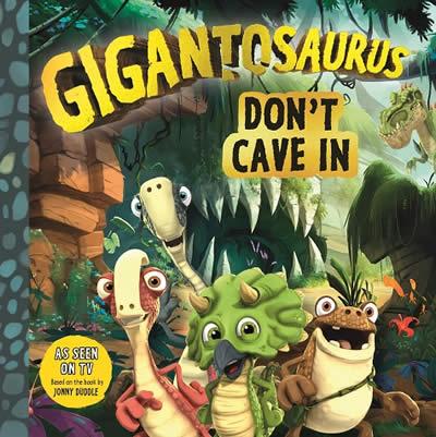 GIGANTOSAURUS: DON'T CAVE IN (NETFLIX)