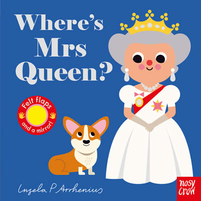 FELT FLAPS: WHERE'S MRS QUEEN?
