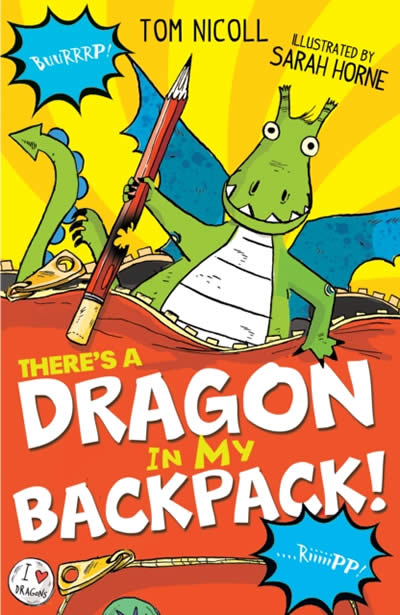 THERE'S A DRAGON IN MY BACKPA