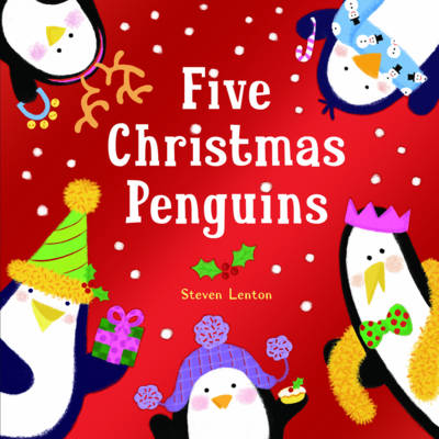 FIVE CHRISTMAS PENGUINS