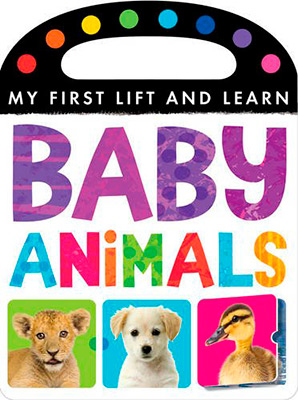 FIRST LIFT & LEARN BABY ANIMALS