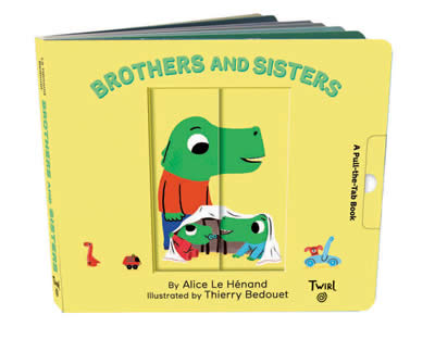 PULL AND PLAY BOOKS: BROTHERS AND SISTERS