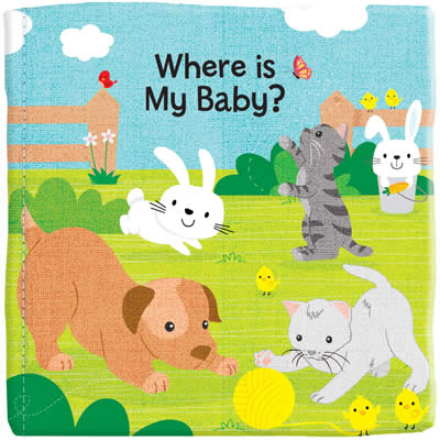 BABY ANIMALS (CLOTH BOOK)
