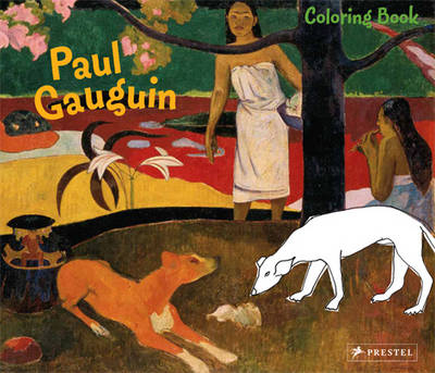 COLORING BOOK GAUGUIN
