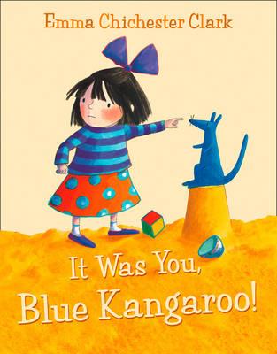 IT WAS YOU. BLUE KANGAROO!