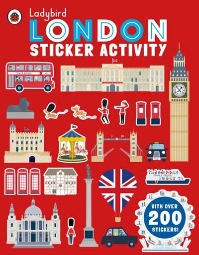 LADYBIRD LONDON STICKER ACTIVITY