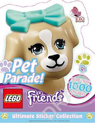LEGO FRIENDS PET PARADE ULTIMATE STICKER COLLECTIO