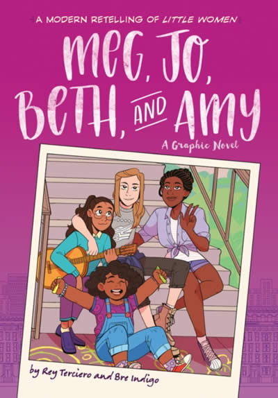 MEG JO BETH AND AMY: A Novela Gráfica