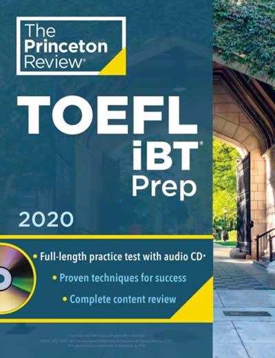 PRINCETON REVIEW TOEFL IBT PREP WITH AUDIO CD 2020