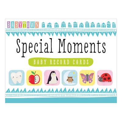 SPECIAL MOMENTS MILESTONE CARDS