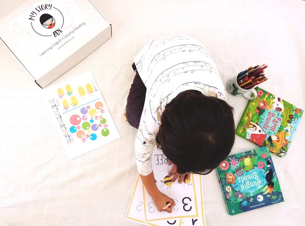 Aprender ingles en casa niños